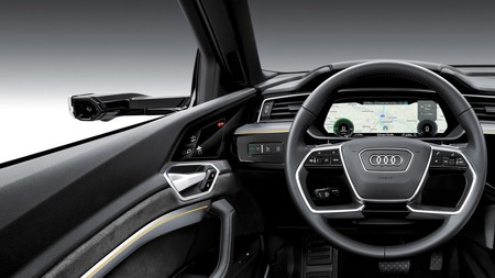 Audi E Tron Virtual Mirror