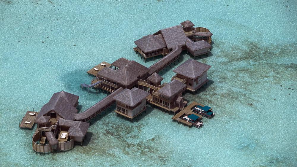 Baño Mas Lujoso Del Mundo:10 – Private Reserve – Soneva Gili Resort & Spa