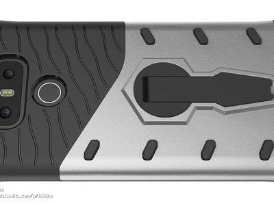 Funda del LG G6 muestra, nuevamente, un diseño muy similar al G5