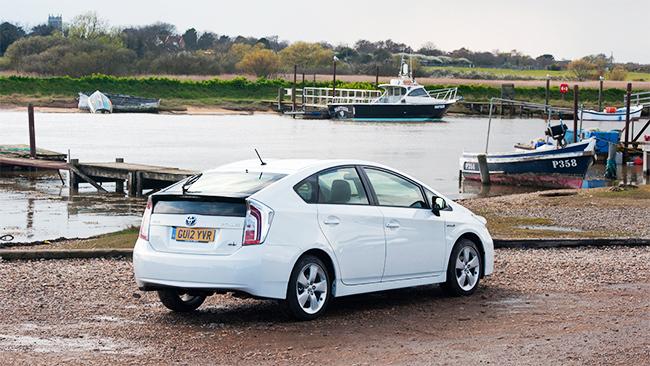 Toyota Prius en Gran Bretaña