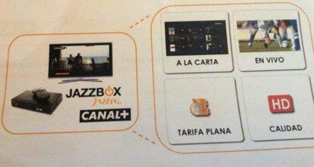 Jazzbox, acceso a contenidos de Canal+ bajo demanda