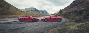 Tradición de manejo purista: Porsche 718 Boxster y Cayman T