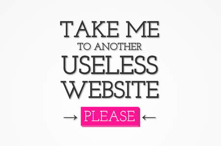 The Useless Web