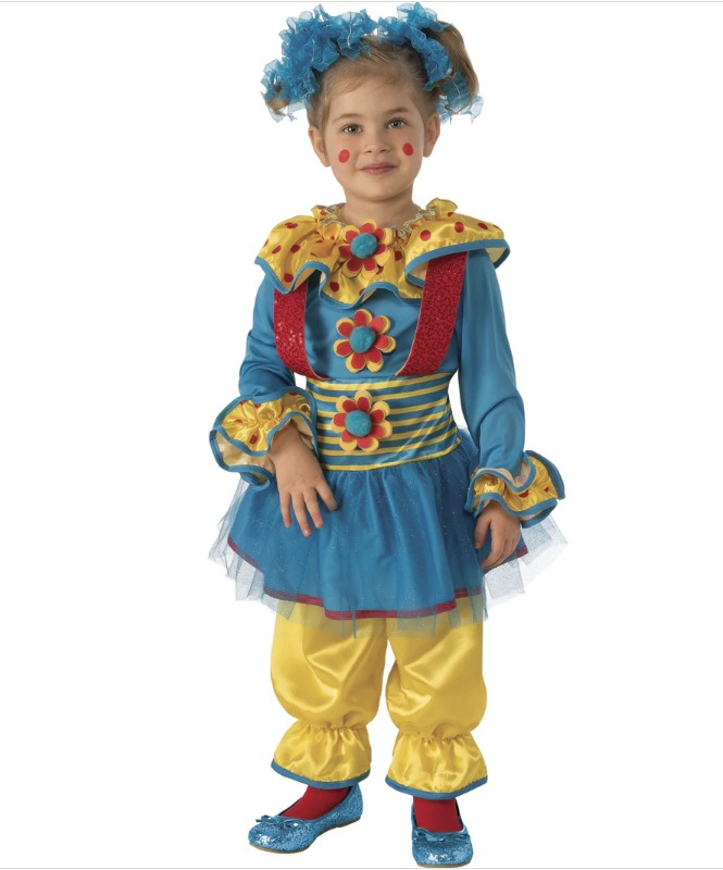 Disfraz Infantil Payasita Puntitos Talla 3-4 años