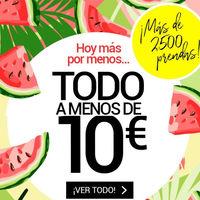 Desde hoy 4 de julio en Venca tienes más de 2500 prendas por menos de 10 euros
