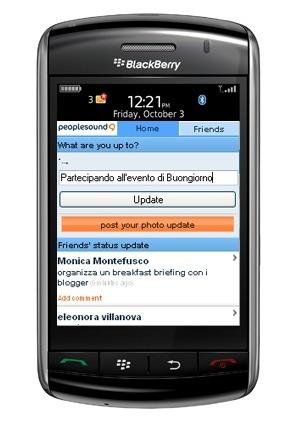 peoplesound, una red social móvil con límite de contactos
