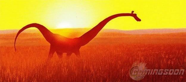 Primera imagen de 'The Good Dinosaur'