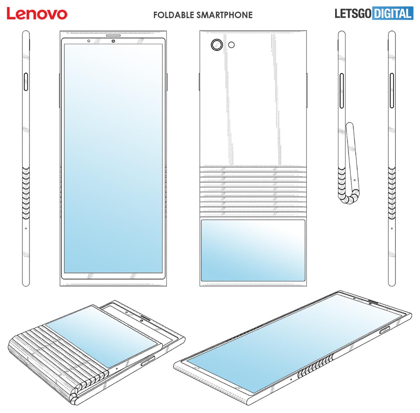 Lenovo Smartphone Flexible Diseno Patente