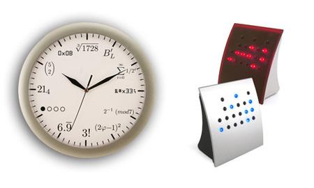 reloj de cocina - geek