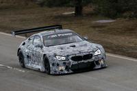 El nuevo BMW M6 GT3 se pasea en Dingolfing, Alemania