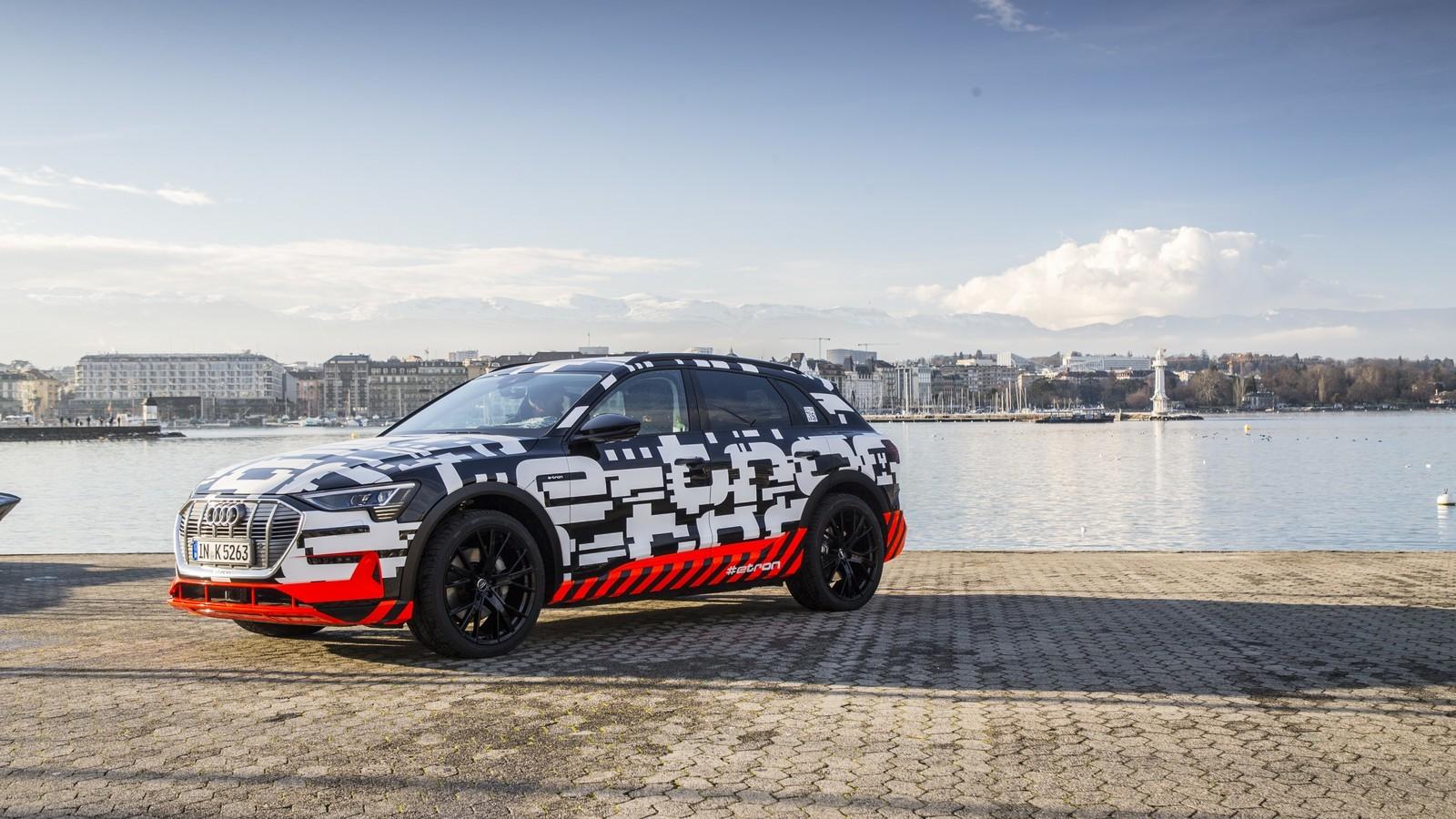 Foto de Audi e-tron prototype (13/21)