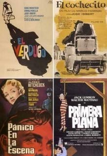 Exposición de carteles de cine en la Filmoteca Española