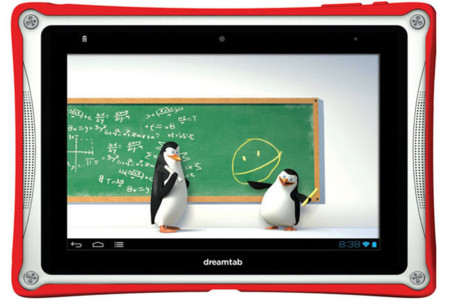 DreamTab, un tablet para niños desarrollado por DreamWorks y Fuhu