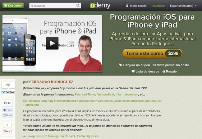 Curso de programación iOS para iPhone y iPad