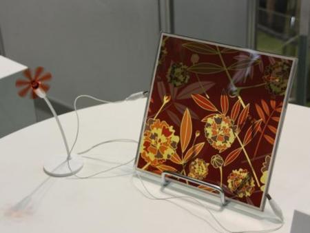Sony muestra una lámpara que se autoalimenta