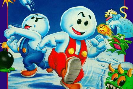 Retroanálisis de Snow Bros., una de las joyas exclusivas de SEGA Mega Drive Mini en Japón