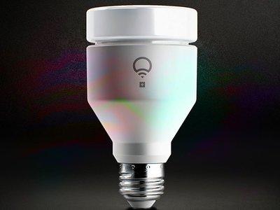 La  nueva bombilla de LIFX emite luz infrarroja para tus cámaras de vigilancia