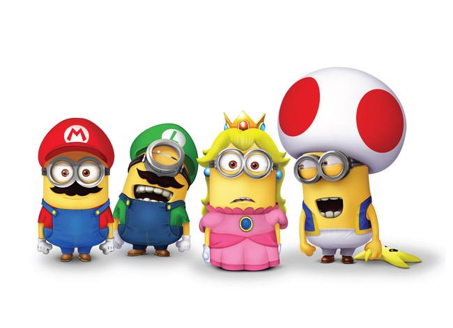 Minions Mario