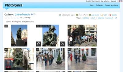 Photorganizr, crea y comparte tu galería de imágenes de forma sencilla