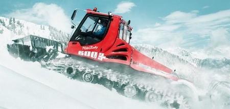 La hibridación también llega a las máquinas que preparan las pistas de esquí