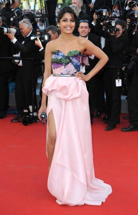 Freida Pinto Festival de Cine de Cannes 2012 Día 1
