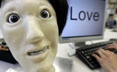 Robot con expresión facial