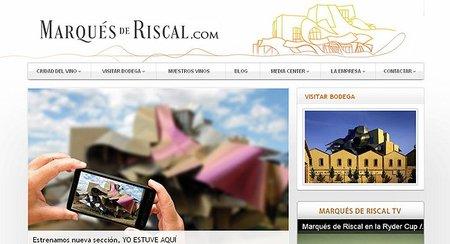 Web Marqués de Riscal