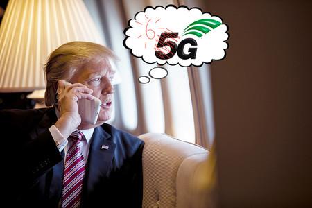 """Trump quiere """"5G y hasta 6G"""" lo antes posible en EEUU, pero le va a tocar esperar"""