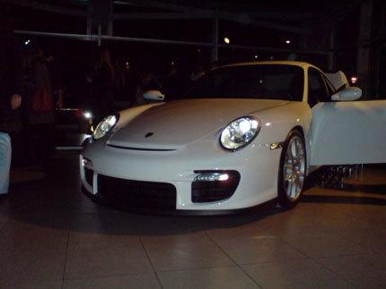Presentación en Madrid del Porsche 911 (997) GT2