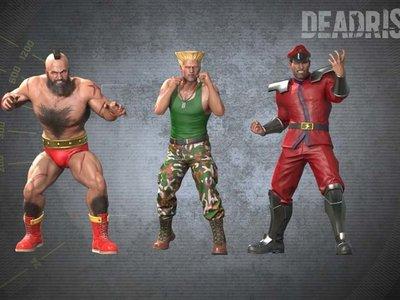 Así lucen los trajes de Street Fighter en Dead Rising 4