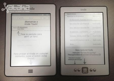 Amazon Kindle Touch Vs Kindle