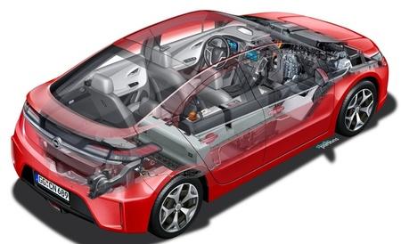 Opel Ampera transparente