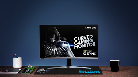 Este es el primer monitor gaming de Samsung que llega a su catálogo ofreciendo compatibilidad con la tecnología Nvidia G-Sync