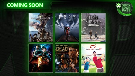 Monster Hunter World, Prey y Resident Evil 5 entre los juegos que se unirán a Xbox Game Pass en abril