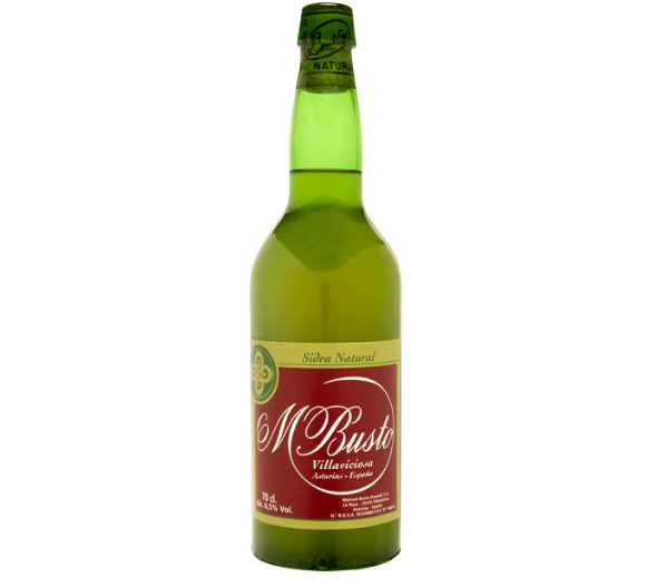 Sidra natural Manuel Busto botella 70 cl
