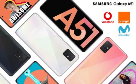 Dónde comprar el Samsung Galaxy A51 más barato: comparativa mejores ofertas con operadores