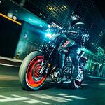 La Yamaha MT-09 se confirma con 118 CV: estrena la plataforma de medición inercial y una renovada imagen al estilo japonés
