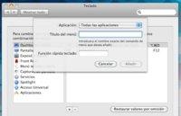 Crea tus propios atajos de teclado en Mac OS X