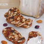 Biscotes crujientes de frutos secos. Receta de aperitivo para tu tabla de quesos