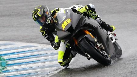 La Honda CBR1000RR-R se estrena en Jerez con caída de Álvaro Bautista y mejor tiempo para Leon Haslam