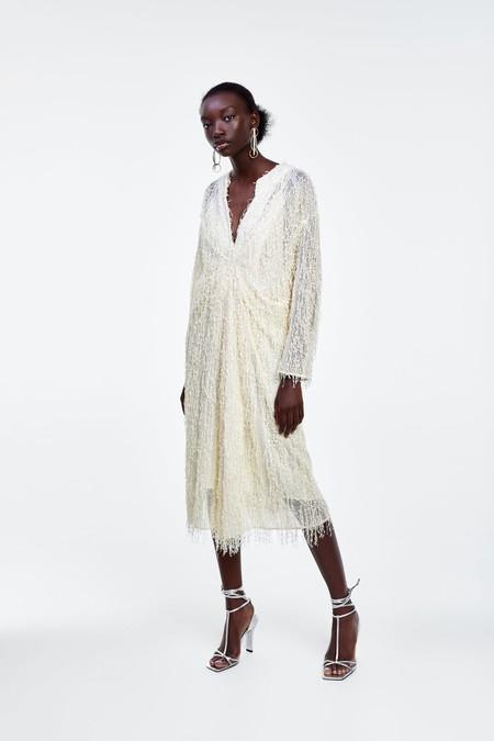 Vestido Blanco Verano 2019 17