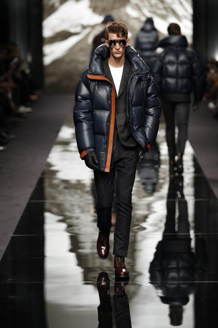 Plumas Louis Vuitton AW 2014