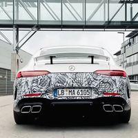 En 2020 podría llegar un Mercedes-AMG GT de cuatro puertas con pegatina CERO, el primer AMG híbrido enchufable