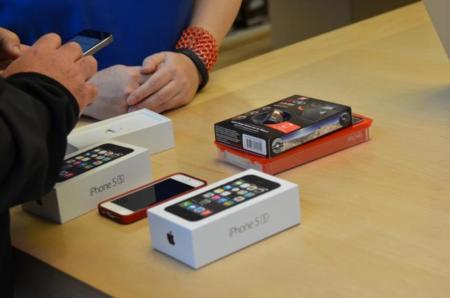 Cómo es un iPhone en la tienda