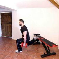 Musculación para corredores (XIV): sentadilla búlgara