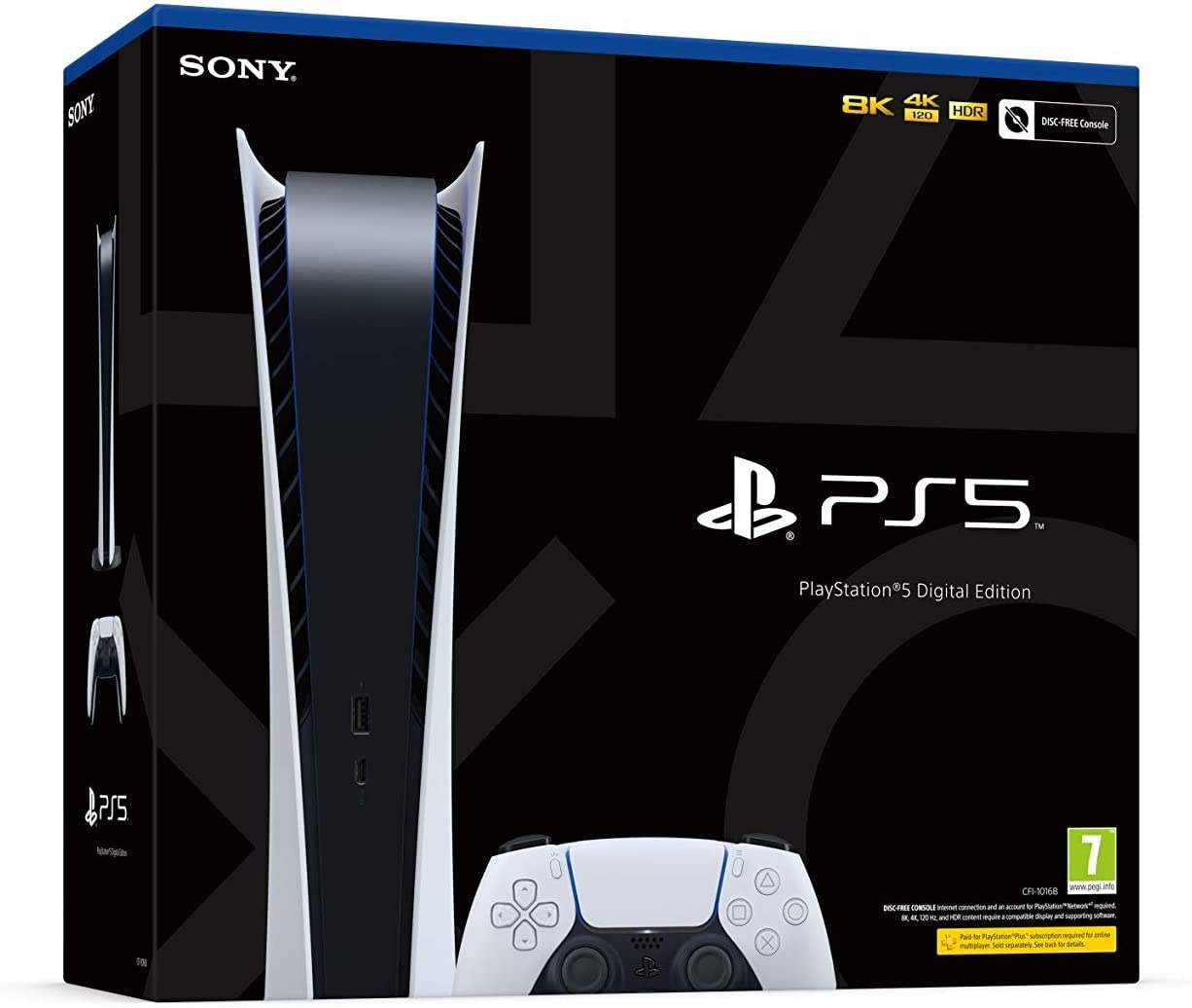 Sony PlayStation 5 Digital