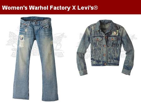 Andy Warhol y Levi's