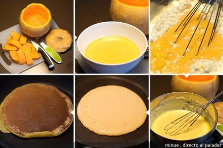 Tortitas de calabaza - elaboración