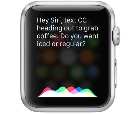 Siri Applewatch