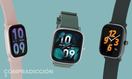 Sólo hoy tienes en oferta flash el Amazfit GTS 2 Mini en Amazon: estrena reloj en verde o negro por sólo 76 euros